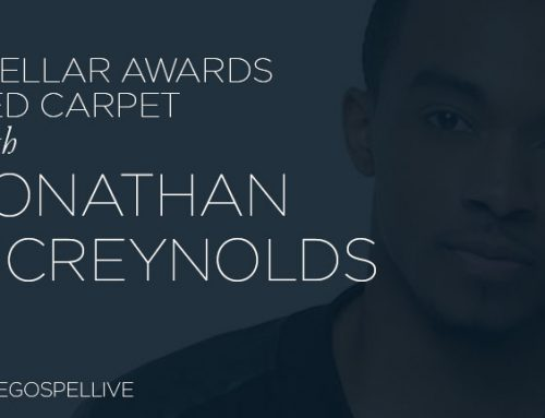 Jonathan McReynolds on the Red Carpet